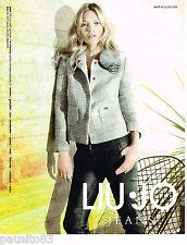 PUBLICITE ADVERTISING 065  2013  LIU-JO JEANS  avec KATE MOSS
