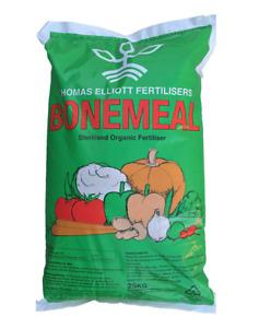 Thomas Elliot Bonemeal Fertiliser 25kg Organic Fertiliser