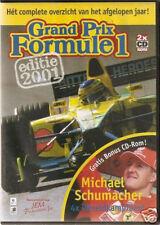 Grand Prix Formule 1 Editie 2001 - 2 x CD-rom