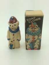 VINTAGE BRITISH 1950s BOXED SOAP CLOWN - BY HAGLEWOOD, ENGLAND