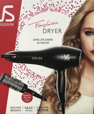 GENUINE VS Hairdryer Black VSD663OBA & Bonus Brush Free Post Superfast Shipping!