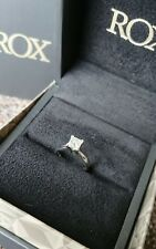 0.70ct F Graded Diamond Engagement Ring - Platinum Band - Colourless