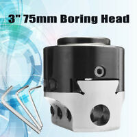 """3"""" 75mm Boring Head Milling Tool with 3pcs Wrench For 18mm Hole Boring Cutter"""