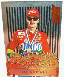 1995 Nascar Jeff Gordon Press Pass Fans Choice - Great Condition!