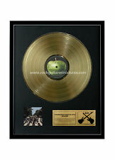 RGM1094 The Beatles Abbey Road Gold Disc 24K Plated LP 12""
