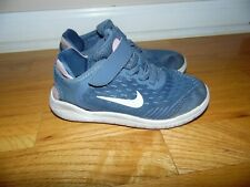 Toddler Girl's NIKE shoes sz 11.5 Gray & Pink GREAT