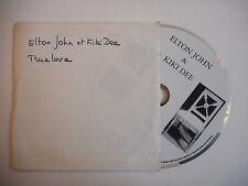 ELTON JOHN & KIKI DEE : TRUE LOVE [ CD SINGLE ] ~ PORT GRATUIT