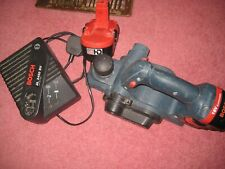 Bosch GHO 18V Cordless Planer With 2 Batterys- Charger