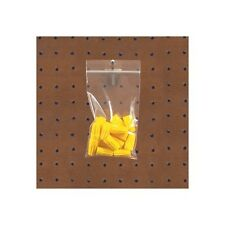 """""""Reclosable 4 Mil Poly Bags w/Hang Hole, 3"""""""" x 5"""""""", Clear, 1000/Case"""""""
