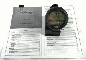 Aeris Atmos1 Air Scuba Dive Wrist Computer with manual Atmos 1        #1844