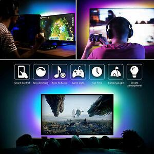 TV Back Light Kit LED Strip Bluetooth 5V USB for 24 - 80 65 55 in TV PC 5050 RGB