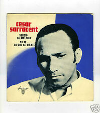 45 RPM SP CUBA CESAR SARRACENT SURGIO LA MELODIA