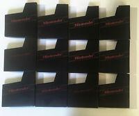 Lot of 12 Original Authentic Nintendo NES Game Cartridge Dust Covers -OEM Sleeve