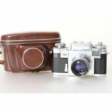 Zeiss-Ikon Contax IIIa Kamera mit Sonnar T 50mm F/1.5 Objektiv
