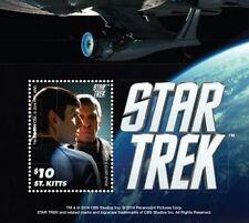 Saint Kitts - Star Trek - Souvenir Sheet MNH