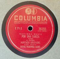 78 HURTADO BROTHERS ROYAL MARIMBA BAND POR UNA CABEZA CIELO DE GUATEMALA 36355