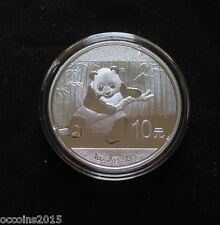 2014 1oz .999 Fine Silver Chinese Panda Coin