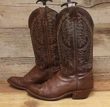 Imperial Women's Brown Leather Western Cowboy Boots sz 5M