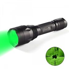 UltraFire H-G3 Cree XP-E2 3LED Green 535nm Outdoor Hunting Light Flashlight
