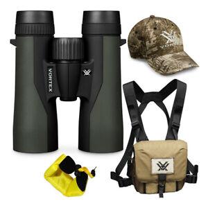 Vortex 10x42 Crossfire HD Roof Prism Binoculars w/ Floating Strap & Vortex Hat