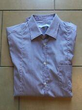 40,41,42,5 Casamoda Comfort Fit Camicia manica lunga New Kent Colletto Strisce Rosa-Tg