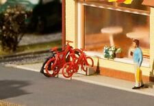 Faller HO Scale Scenery Accessory Kit Assorted Bikes/Bicycles 8-Pack