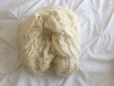 Beautiful SOFT Large Skein Peruvian Alpaca Yarn Wool Mix 1 lb, 480 gr Cream