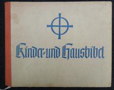 "6184 WW2 German Original period  "" CHILDRENS BIBLE "" cir 1941"