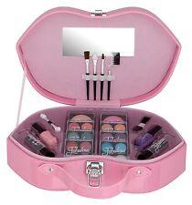 Makeup Kit Gift Set Eyeshadow Foundation Blusher Powder Lip Gloss + 5PC Brushes