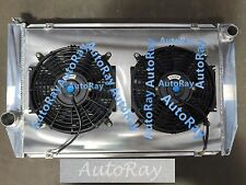 FOR Ford Falcon V8 6cyl XC XD XE XF Aluminum Alloy Radiator + SHROUD + FANS