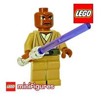 LEGO MINIFIGURE • STAR WARS Mace Windu LIGHTSABER 8019 7868 SW220 R946 NEW