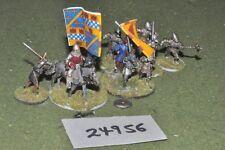 25 mm Caballeros Medievales/Alemán - 11 figuras-INF (24956)