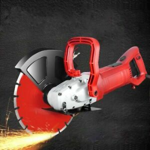 Electric Wall Chaser Groove Cutting Machine Wall Slotting Steel Concrete Cutter