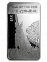 2018 Lunar Year of the Dog Mint Sealed 1/2 oz. Fine Silver Bar!!