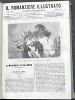 Il Romanziere Illustrato - Giornale di romanzi - 2° semestre 1867