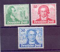 Berlin Goethejahr 1949 - MiNr. 61/63 postfrisch geprüft - Michel 320,00 € (402)