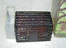 Vintage Avon Log Cabin Decanter  In Box Wild Country Never used