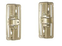 Pair of TAN ROC 80 - Rapid Open Connector Tactical Quick Release Buckle ROC80