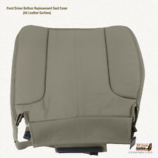 2003 2004 2005 Dodge Ram 2500 SLT Driver Bottom Leather Seat Cover Color TAN