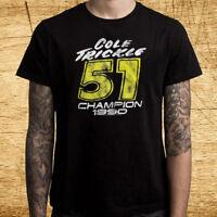 Dick Trickle Racing Legend Memorial Tribute Black T Shirt