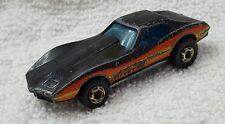 Vintage 1975 Hotwheels Corvette Stingray Diecast Toy Car Mattel Hong Kong