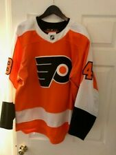 Danick Martel 2017-2018 Philadelphia Flyers Home Adidas Game Issued Jersey