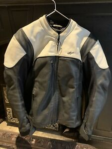 Alpinestars Hellius Leather Jacket,size Large ,will Throw In Matching Gloves (L)