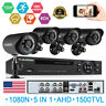FLOUREON 8CH 1080P DVR Video Security IP Camera System Outdoor IR Night Vision