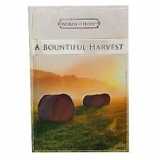 Words of Hope a Bountiful Harvest by Christian Art Gifts (Corporate Author)