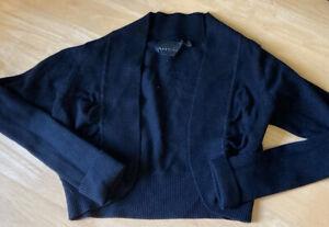 Black Cropped Cardigan Size 8