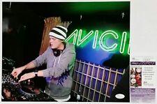 AVICII DJ SIGNED 11X14 PHOTO W/JSA CERT V33027 TIM BERGLING LEVELS STORIES TOUR