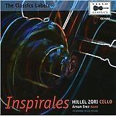Inspirales [Hillel Zori, Arnon Erez] [Cello Classics: CC1030], Hillel Zori, Arno
