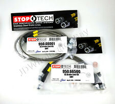 STAINLESS STEEL FRONT+REAR BRAKE LINES FOR 00-06 CHEVY SUBURBAN - STOPTECH