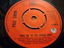 "PAUL SIMON * TAKE ME TO THE MARDI GRAS * 7"" SINGLE VERY GOOD 1973"